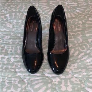 Predictions: patent leather black heels